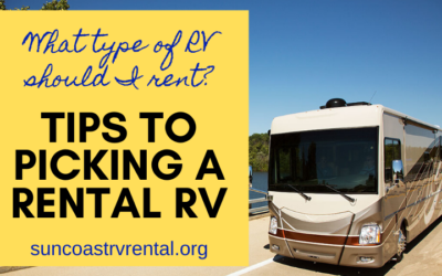 Picking an RV to Rent