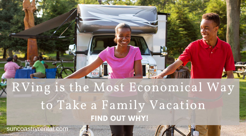 An RV Vacation is More Economical than Traditional Travel for Families