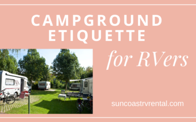 Campground Etiquette for RVers