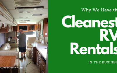 The Cleanest RV Rentals in the Business