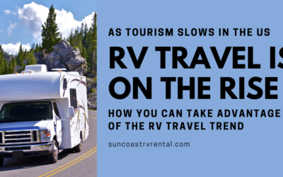 As Tourism Slows in the US, RV Travel Increases